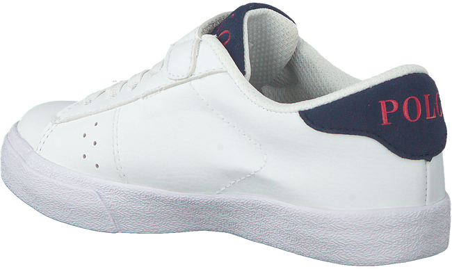 Witte POLO RALPH LAUREN Lage sneakers THERON PS  - large