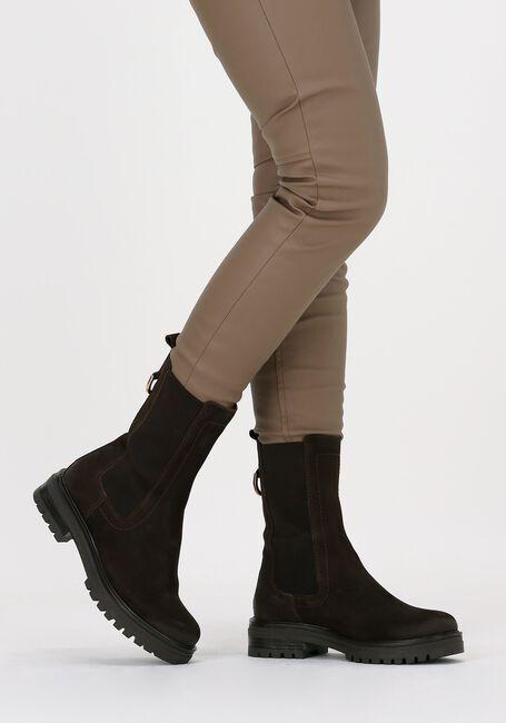 Bruine OMODA Chelsea boots LPMONK-05  - large