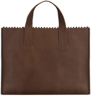 Bruine MYOMY Handtas MY PAPER BAG HANDBAG CROSS-BODY - medium