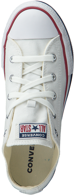 Witte CONVERSE Lage sneakers CHUCK TAYLOR ALL STAR PLATFORM  - large