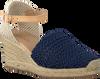 Blauwe OMODA Espadrilles LACRAME  - small