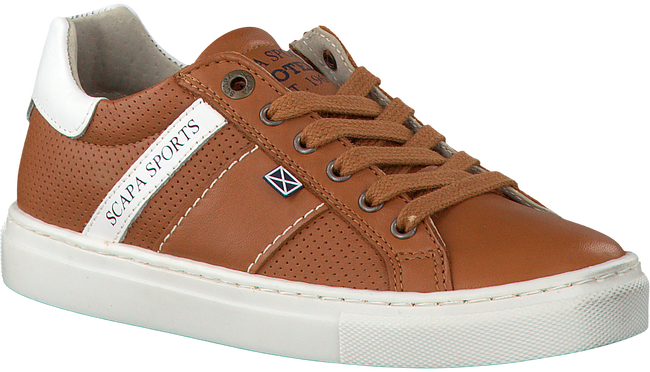 Cognac SCAPA Sneakers 61505  - large