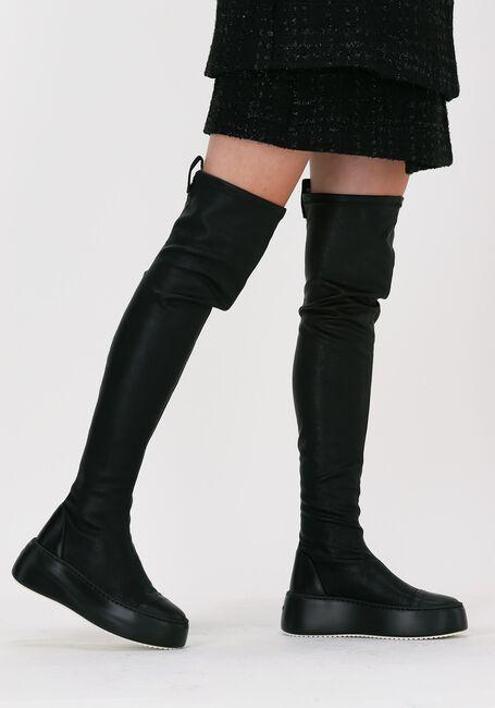 Zwarte VIC MATIE Overknee laarzen 1W3412D  - large