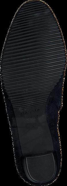Blauwe HASSIA Enkellaarsjes 6924  - large