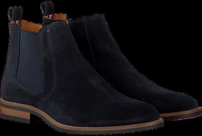 Blauwe TOMMY HILFIGER Chelsea boots DAYTONA 4B  - large