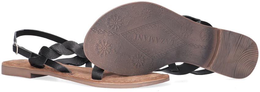 Zwarte LAZAMANI Sandalen 75.630  - larger