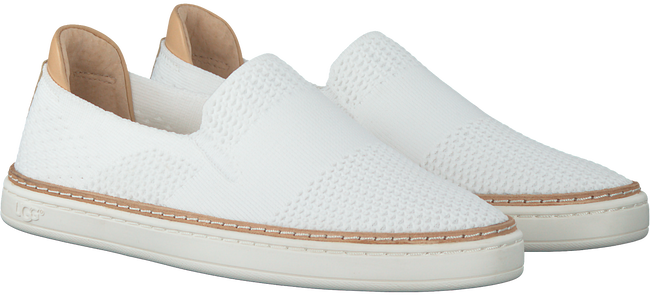 Witte UGG Instappers SAMMY  - large