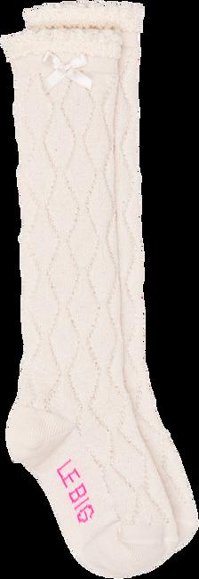 Witte LE BIG Sokken IRIA KNEEHIGH - large