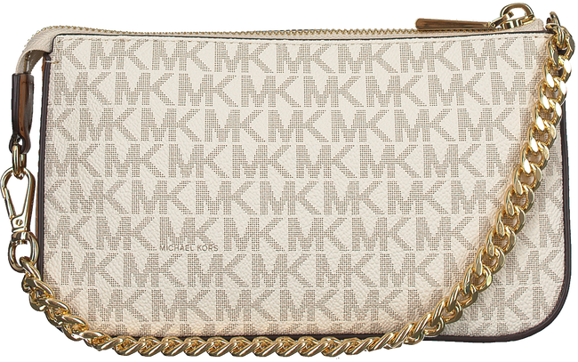 Beige MICHAEL KORS Schoudertas MD CHAIN POUCHETTE - large