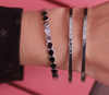 Zilveren MY JEWELLERY Armband LIVE LAUGH LOVE BANGLE  - small