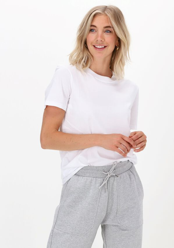 Witte SELECTED FEMME T-shirt SLFMY PERFECT SS TEE BOX CUT B - larger