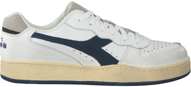 Witte DIADORA Lage sneakers MI BASKET LOW USED  - large