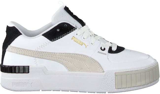 Witte PUMA Lage sneakers CALI SPORT MIX WN'S