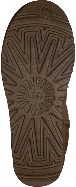 Cognac UGG Vachtlaarzen W CLASSIC MINI II  - large