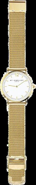 Gouden MY JEWELLERY Horloge MEDIUM MESH WATCH - large