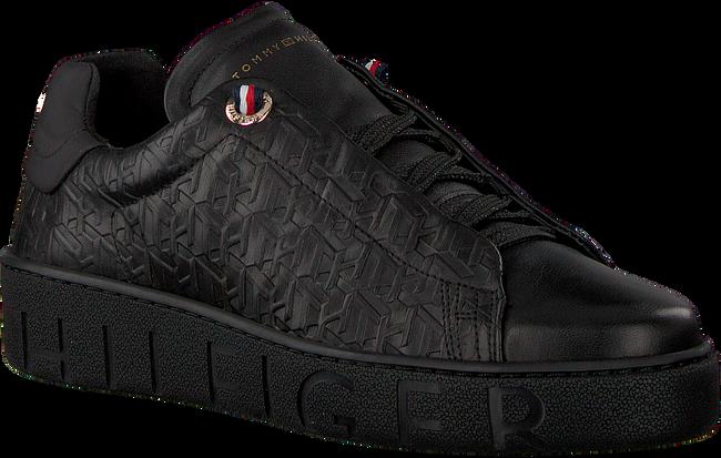 Zwarte TOMMY HILFIGER Sneakers TOMMY MONOGRAM DRESSY  - large