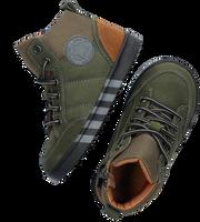 Groene TON & TON Hoge sneaker BRAGE  - medium