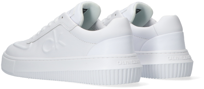 Witte CALVIN KLEIN Lage sneakers CHUNKY SOLE LACEUP OXFORD  - large