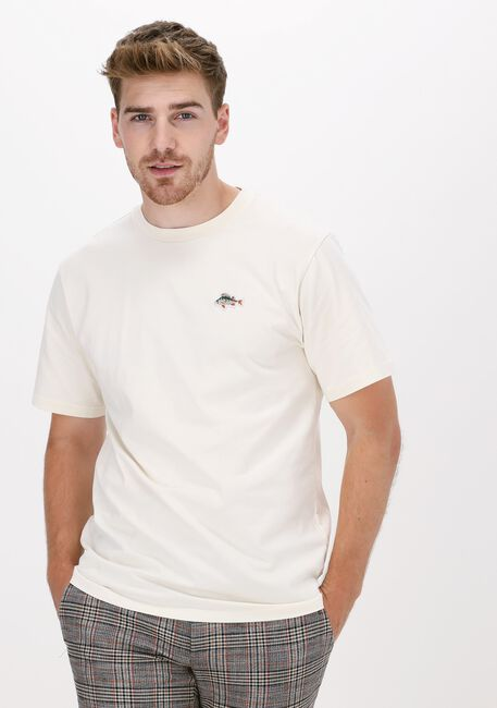 Gebroken wit FORÉT T-shirt FISH T-SHIRT - large