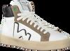 Witte WOMSH Hoge sneaker BASK  - small