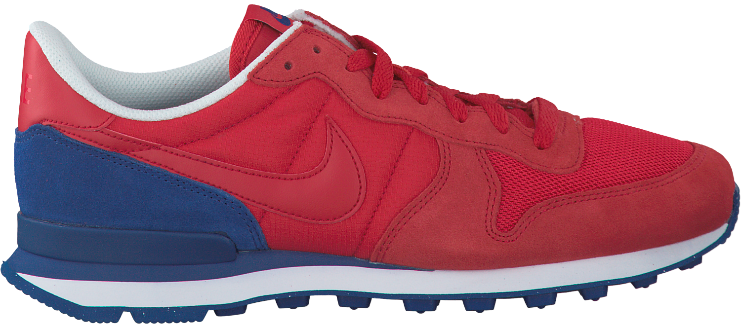 Rode NIKE Sneakers INTERNATIONALIST MEN Omoda.nl
