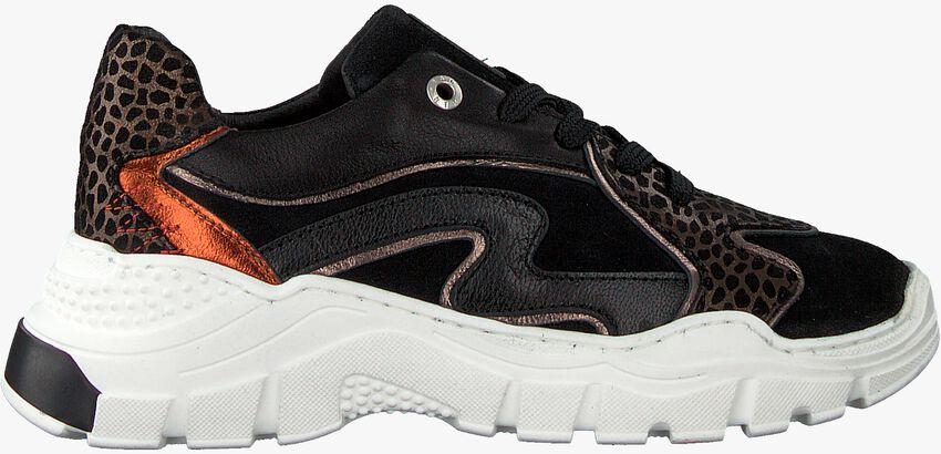 Zwarte RED-RAG Lage sneakers 13058  - larger