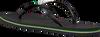 Zwarte HAVAIANAS Slippers SLIM BRASIL LOGO - small
