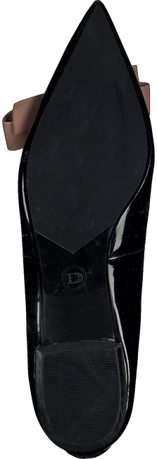 Zwarte DUNE LONDON Ballerina CLASH  - large