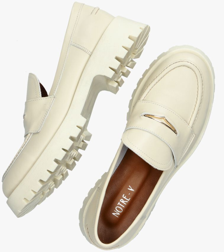 Witte NOTRE-V Loafers 753109 - larger