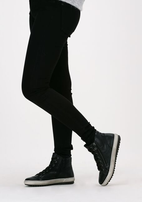 Zwarte GABOR Hoge sneaker 754  - large