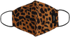 Bruine OMODA Mondkapje LEOPARD - small