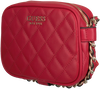 Rode GUESS Handtas SWEET CANDY MINI XBODY TOP ZIP  - small