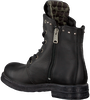 Zwarte REPLAY Biker boots RL260059L SKIN - small