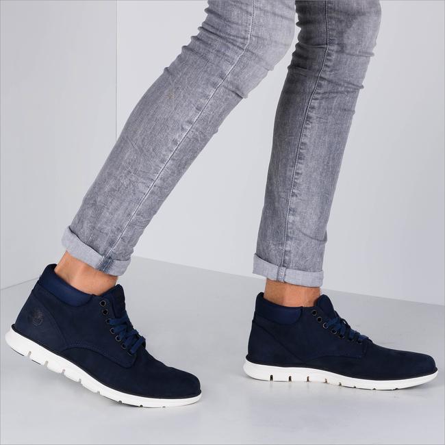 Blauwe TIMBERLAND Sneakers BRADSTREET CHUKKA  - large