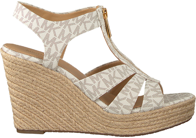 Witte MICHAEL KORS Espadrilles BERKLEY WEDGE - large