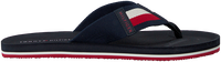 Blauwe TOMMY HILFIGER Slippers SPORTY CORPORATE BEACH  - medium