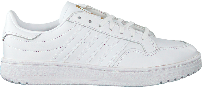 Witte ADIDAS Lage sneakers TEAM COURT W  - large