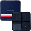 Blauwe TOMMY HILFIGER Sokken TH MEN MIXED DOTS GIFTBOX 4P  - small