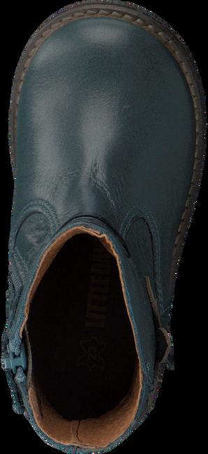 Blauwe LITTLE DAVID Lange laarzen IDAIA  - large