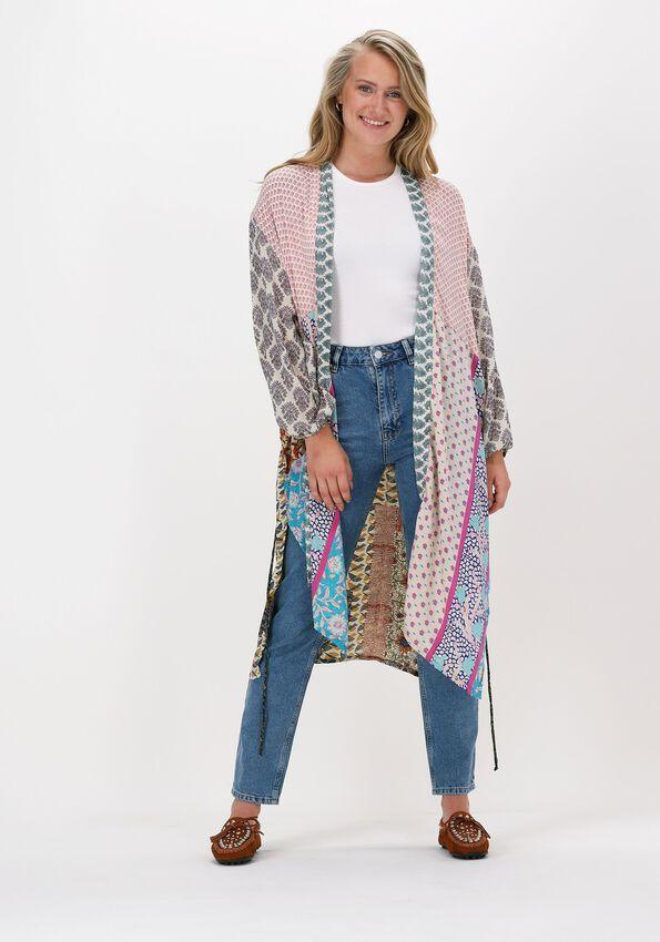 Lichtroze SISSEL EDELBO Kimono POCKET LONG MIX KIMONO - larger