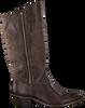 Bruine CATARINA MARTINS Cowboylaarzen BENDITA ZIP HIGH  - small