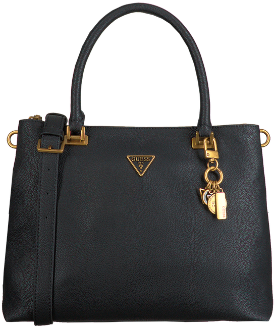 Zwarte GUESS Handtas DESTINY SOCIETY CARRYALL  - large