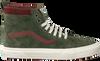 Groene VANS Sneakers UA SK8-HI HEREN  - small