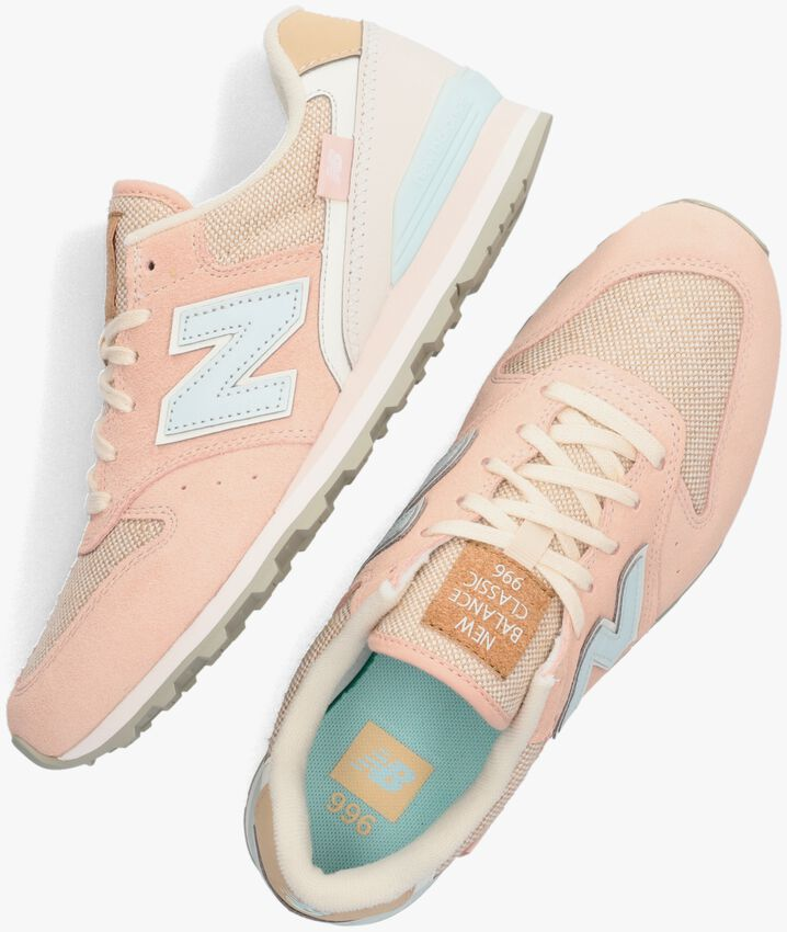 Roze NEW BALANCE Lage sneakers WL996  - larger
