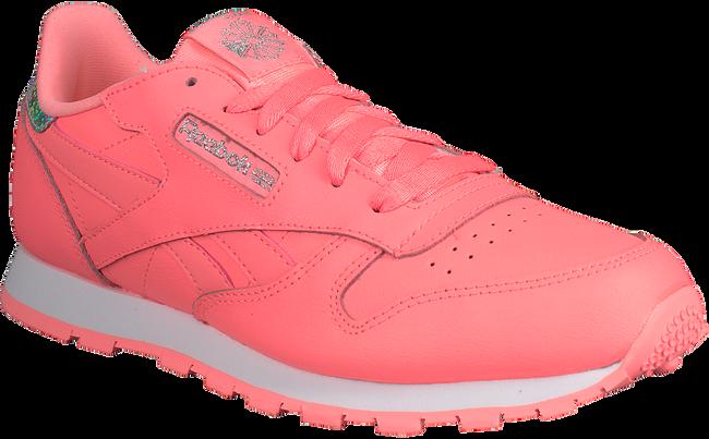 Roze REEBOK Sneakers CL LEATHER KIDS  - large