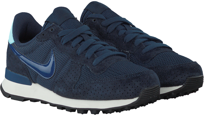 the latest e9ed2 48575 Blauwe NIKE Sneakers INTERNATIONALIST WMNS
