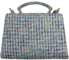 Blauwe BECKSONDERGAARD Schoudertas LORA PETIT MALERY BAG  - small