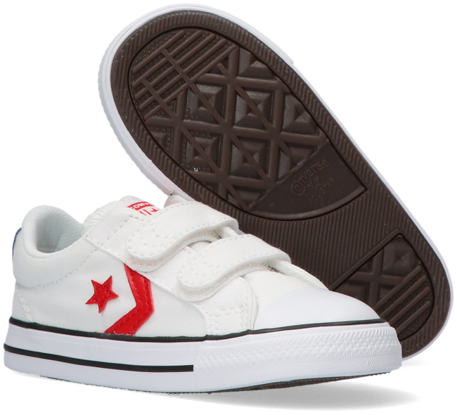 Witte CONVERSE Lage sneakers STAR PLAYER 2V  - large