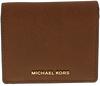 Cognac MICHAEL KORS Portemonnee CARRYALL CARD CASE - small