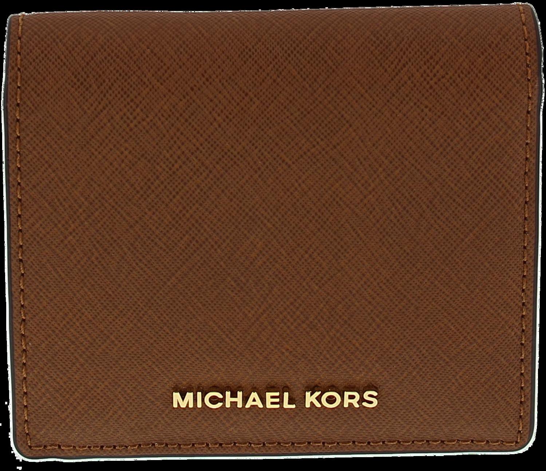 f128909b596 Cognac MICHAEL KORS Portemonnee CARRYALL CARD CASE - large. Next